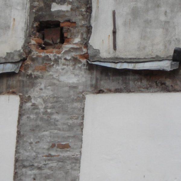 muur afbraak