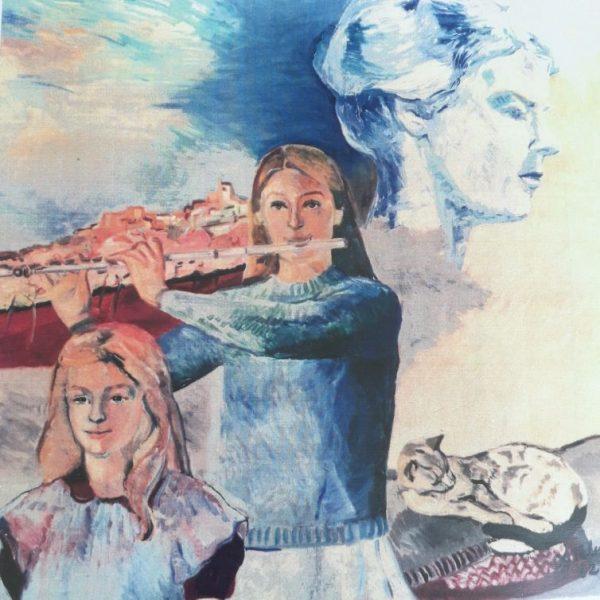 Elly Talen portretten compositie